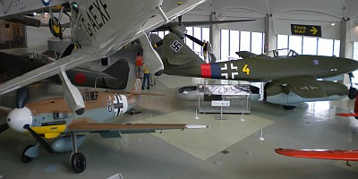 RAF Museum Messerschmitts