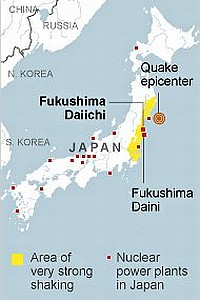 Nuclear plants in Japan