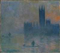 Houses of Parliament by Monet